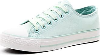 Klassische Damen Schuhe Low Top Schnür Sneaker Turnschuhe Beige 37 Marimo tLQADd6Eja