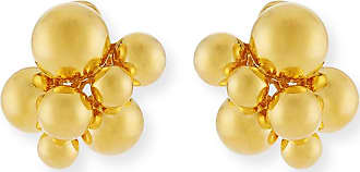 Marina B Small Atomo Clip-On Earrings in 18K Gold oXNVgKhz0