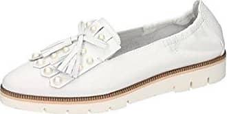 Damen Elegante Slipper Applikation Aus Perlen Uns Stras Leder Grau Silber EU 38,5 Maripé
