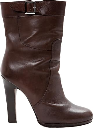 Voir Le Prix Pas Cher Marni Boots à Sangles En Cuir Dernières Collections De Dédouanement Sortie Pour Pas Cher Acheter Pas Cher Ebay Vente Chaude Sortie fE3fzVs7