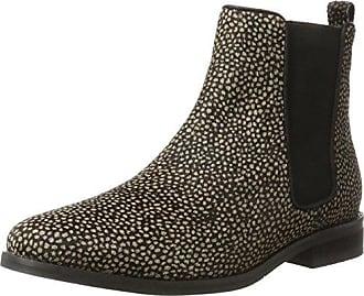 Maruti Mimosa Suede, Chukka Boots Femme, (Black), 38 EU