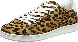 Maruti Nena Hairon Leather, Baskets Femme, (Leopard Bege Brown Black ZF7), 41 EU