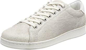 Maruti Cato Hairon Leather, Baskets Femme, Gris (Crocodile White ZJ4), 39 EU