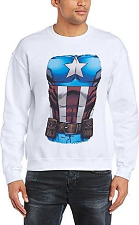 Mens Avengers Assemble Captain America Chest Burst Long Sleeve Sweatshirt MARVEL Cheap For Sale Official Site Buy Cheap 2018 Newest Discount Footaction qThyvVWEn