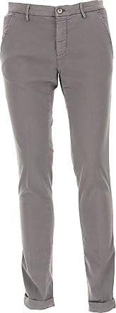 Pantalones de Hombre, Pantalón Baratos en Rebajas, Gris, Algodon, 2017, 46 48 50 52 Mason's
