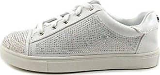 Frauen Elanie Fashion Sneaker Weiss Groesse 9.5 US/41 EU Material Girl xJUTXoS3m