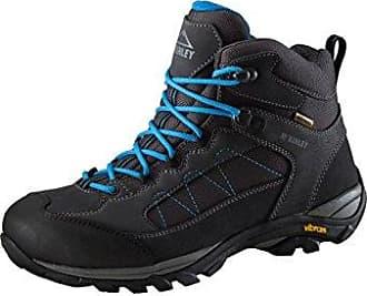 McKINLEY Damen Trekkingstiefel Denali Mid AQX II Trekking-& Wanderstiefel, Grau (Grey Dark/Turquoise 000), 39.5 EU