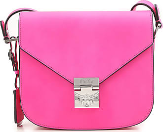 MCM Shoulder Bag for Women On Sale, fuxia, Leather, 2017, one size