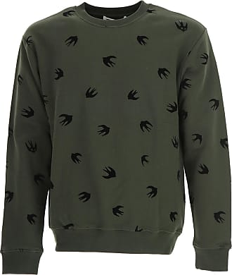 Sweatshirt for Men On Sale in Outlet, Black, Cotton, 2017, L S McQ by Alexander McQueen