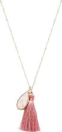Melanie Auld The Island Necklace in Metallic Gold BcGivCMC