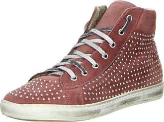 Méliné Damen High-Top Sneaker Plateau braun, Größe:40;Farbe:Braun