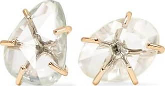 14-karat Gold, Opal And Sapphire Earrings - one size Melissa Joy Manning