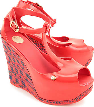 Wedges for Women On Sale, Red, PVC, 2017, USA 7 - EUR 38 USA 8 - EUR 39 Melissa
