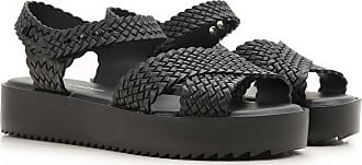 Sandals for Women On Sale in Outlet, Melissa + Salinas, Black, PVC, 2017, USA 5 - EUR 35/36 Melissa