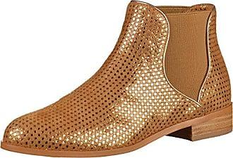 DRECCO Damen Slipper Camel, EU 36 Mellow Yellow