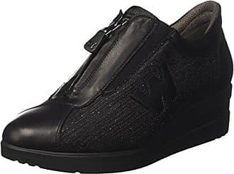 MELLUSO R25800, Sneakers Basses Femme - Noir - Noir (Nero Guanto-Nero), 38 EU EU