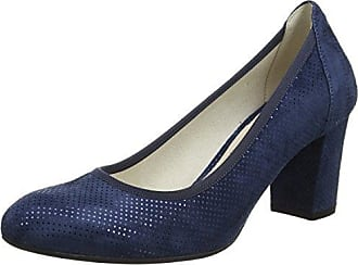 Donna, Zapatos de Tacón con Punta Cerrada para Mujer, Beige (Sella Sella), 40 EU Melluso