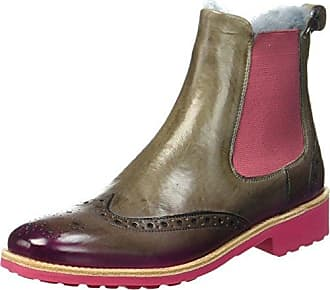 Melvin & Hamilton Amelie 5, Chelsea Boots Femme, Rot (Red), 40 EU