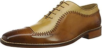 ECCO Crepetray, Zapatos de Cordones Brogue Para Hombre, Marrón (Navajo Brown/Powder), 46 EU