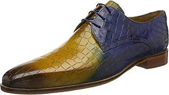 Melvin & Hamilton Lance 16, Zapatos de Cordones Oxford para Hombre, Grau (Crust Navy, Smoke, Morning Grey, Hrs), 42 EU