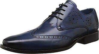 Lewis 17, Scarpe Stringate Oxford Uomo, Marrone (Classic Tan/Interlace e-Blue, LS BRW Classic Tan/Interlace e-Blue, LS BRW), 43 EU Melvin & Hamilton