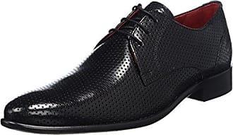 Melvin & Hamilton Toni 26, Zapatos de Cordones Oxford para Hombre, Azul (E-Blue Crust/E-Blue Lasercut Snake/LS Black), 45 EU