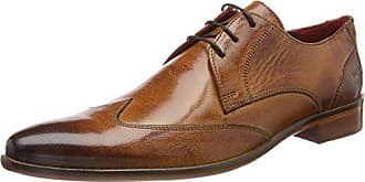 Melvin & Hamilton Freddy 1, Zapatos de Cordones Derby para Hombre, Marron (Remo TanModica Navy), 44 EU Melvin & Hamilton