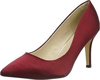 Yedra, Zapatos de Tacón con Punta Cerrada para Mujer, Gris, 40 EU Menbur