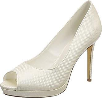 Berenice, Zapatos de Tacón con Punta Cerrada para Mujer, Marfil (Ivory), 38 EU Menbur