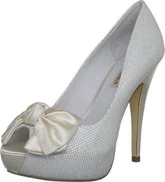 Menbur Wedding Nati, Escarpins pour femme - Blanc - Elfenbein (Ivory 04), 39 EU (6 Damen UK) EU