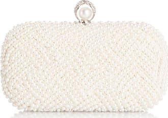 Menbur 834760, pochette femme - Blanc - ivoire,