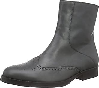 Ankle Boot, Botas para Mujer, Gris (Dark Grey 013), 40 EU Mentor