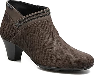 Sable Ankleboot / Taupe Combiné nYG4AMk