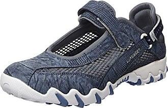 Allrounder by Mephisto Natal, Zapatos de Cordones Derby para Mujer, Gris (Lavagna/Lavagna), 37 EU