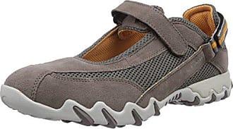 Natal, Zapatos de Cordones Derby para Mujer, Gris (Lavagna/Lavagna), 37 EU Mephisto