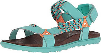 Maui, Sandalias para Mujer, Turquesa (Turquoise CU), 38 EU Minnetonka
