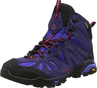 Merrell Capra Mid, Chaussures de Randonnée Hautes Femme, Marron (Boulder), 48 EU