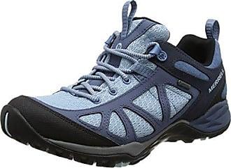 Merrell Siren Edge Waterproof, Zapatillas de Senderismo para Mujer, Azul (Bleached Aqua), 37.5 EU