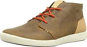 Burnt Rock Tura Denim Low, Sneaker Uomo, Blu (Navy/Chocolate True), 43.5 EU Merrell