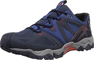 Merrell Grassbow Sport Gtx, Chaussures de sports extérieurs homme, Bleu (Navy/Tahoe Blue), 45
