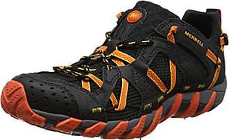 Merrell Waterpro Maipo, Chaussures Multisports Homme - Noir (Corail Noir/Chaud), 45