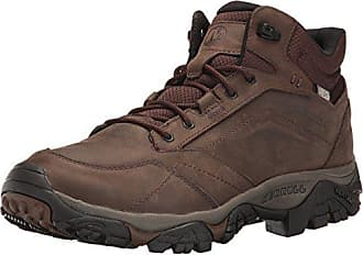 Merrell Moab Adventure Lace Waterproof, Chaussures de Randonnée Basses Homme - Marron (Dark Earth), 44 EU (9.5 UK)