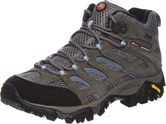 Ridgepass Mid, Zapatos de High Rise Senderismo, Mujer, Multicolor (Castlerock/Periwinkle), 37.5 EU Merrell