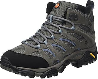 Merrell Damen Moab 2 Mid GTX Trekking-& Wanderstiefel, Grau (Frost Grey), 42 EU