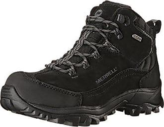 Merrell Overlook 6 Ice+, Chaussures de Randonnée Hautes Homme, Noir (Black), 42 EU