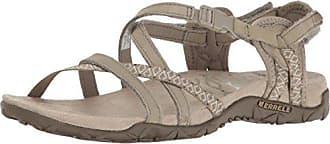 Merrell Damen Sandalen, Beige - Taupe - Größe: 37.5 EU