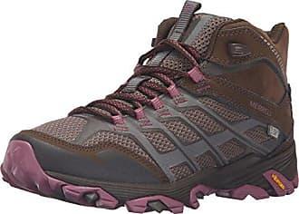 Merrell Damen Moab FST Waterproof Wandern Schuhe, 37 B(M) EU, Granit
