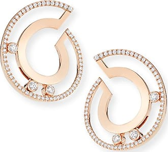 Messika 18k Move Roman Small Diamond Hoop Earrings P8YE2mLpuO