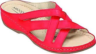 Miccos Shoes Clogs, Pantoletten D.Pantolette in gelb/komb., Größe 40.0,