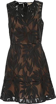 Dress for Women, Evening Cocktail Party On Sale, Navy Blue, polyester, 2017, 12 8 Michael Kors